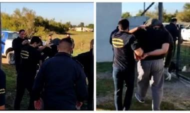 Detienen a un hombre acusado de matar a un peón de campo en Suarez