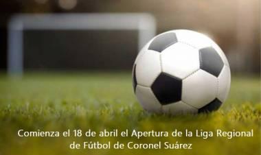 Equipos de la Liga Regional de Fútbol y un campeonato de tres zonas