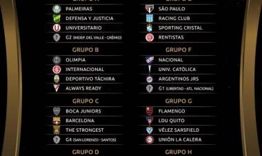 Se sorteó la Libertadores 2021: así quedaron los grupos