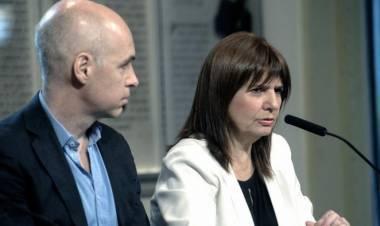 Denunciaron por atentado a la salud pública y sedición a Rodríguez Larreta, Stanley y Bullrich