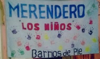 Un merendero pide colaboración para ayudar a 60 chicos