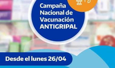 PAMI: Campaña Nacional de vacunación antigripal 2021⠀