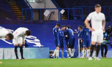 Chelsea venció al Real Madrid y jugará la final ante el City