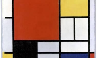Subastan una obra maestra de Mondrian valuada en 25 millones de dólares