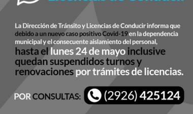 Importante: LICENCIAS DE CONDUCIR