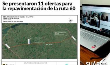 Huanguelén: Día Histórico - Se presentaron 11 ofertas para la repavimentación de la ruta 60