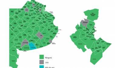 Sólo ocho municipios registraron muertes por Covid en las últimas 24 horas