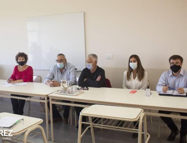 Jornada de trabajo con Funcionarios del Ministerio de Trabajo y Región Educativa 23