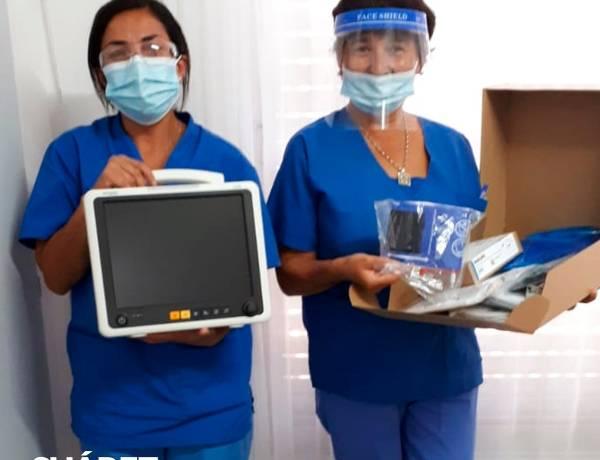 Tras gestiones del Intendente Moccero arribó al hospital de Huanguelén equipamiento tecnológico