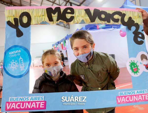 Empezó la vacunación de niños y niñas de entre 3 y 11 años