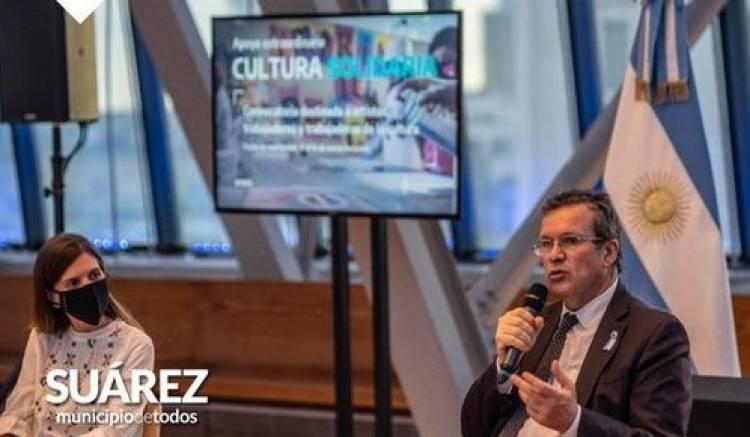 Nación, Provincia y Municipio: El Ministerio de Cultura de Nación lanzó un apoyo extraordinario y solidario ⠀
