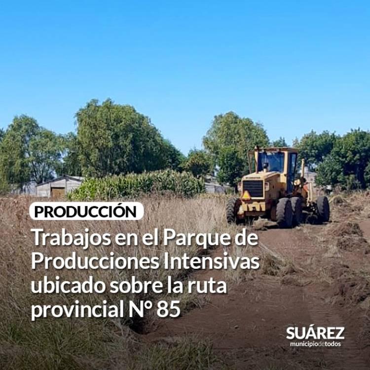 Producción- Trabajos en el Parque de Producciones Intensivas