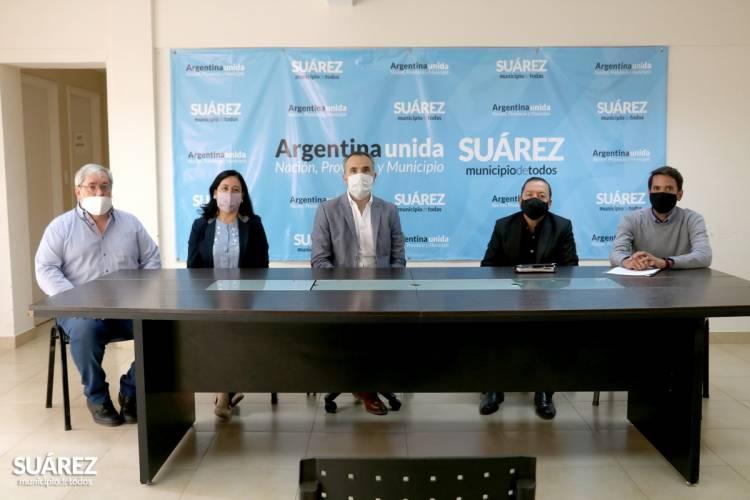 El Presidente del Patronato de Liberados doctor Aníbal Hnatiuk firmó un convenio de mutua colaboración con el Municipio