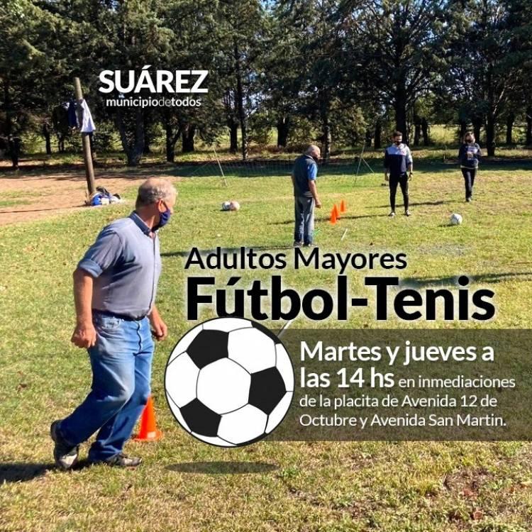 Adultos Mayores: Fútbol-Tenis