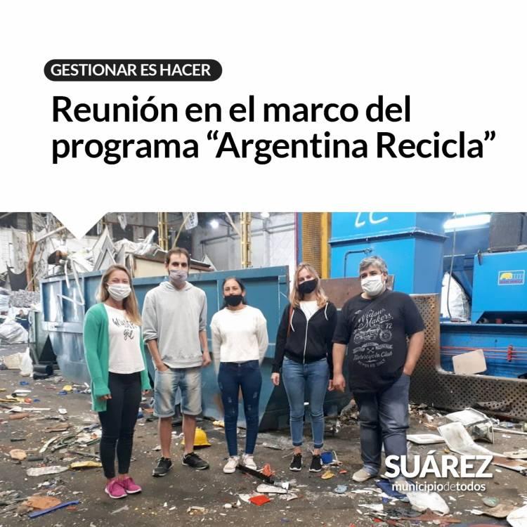 """Gestionar Es Hacer: Reunión en el marco del programa """"Argentina Recicla""""⠀"""