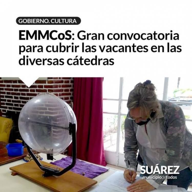 EMMCos: Gran convocatoria para cubrir las vacantes en las diversas cátedras