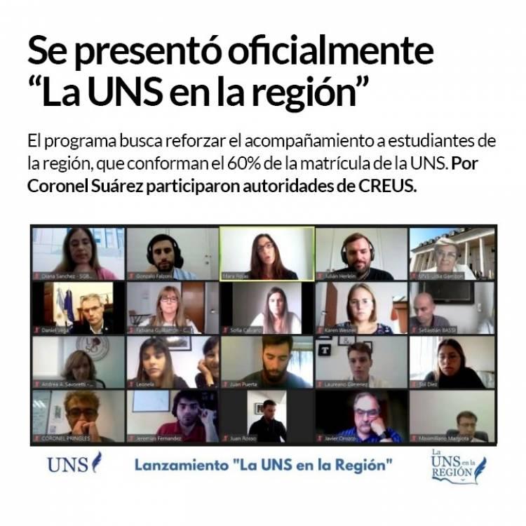"""Educación:Se presentó oficialmente """"La UNS en la región""""⠀"""