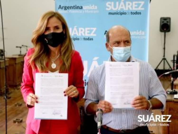 La Presidenta del Concejo Nacional de Coordinación de Políticas Sociales visitóCoronel Suárez