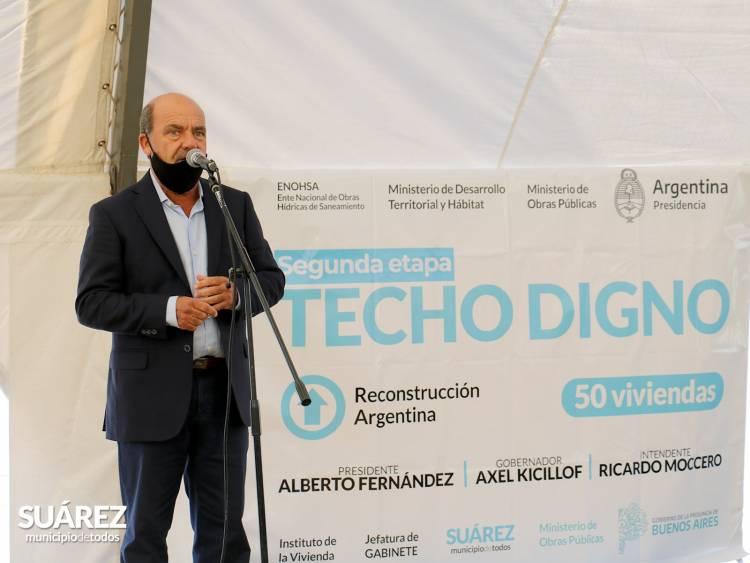 Se entregaron las últimas 50 viviendas del programa Techo Digno