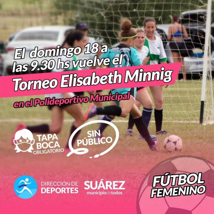 Fútbol Femenino: Vuelve el Elisabeth Minnig al Polideportivo Municipal