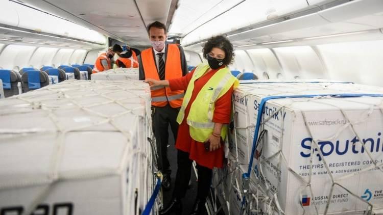 Con la llegada del nuevo vuelo, la Argentina suma casi 9 millones de dosis de vacunas