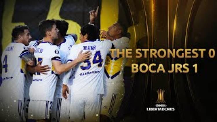 Boca debutó con victoria 1-0 frente a The Strongest en la altura