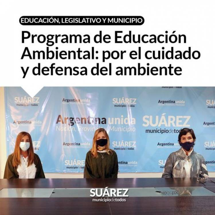 Programa de Educación Ambiental: por el cuidado y defensa del ambiente⠀