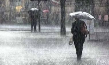 Las temperaturas cálidas del centro del país comenzarán a bajar el jueves con lluvias y tormentas