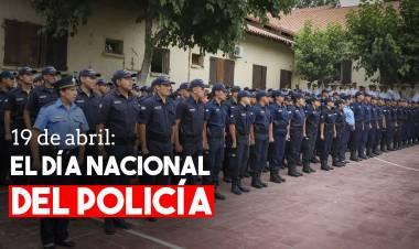 Se celebra el Día Nacional del Policía