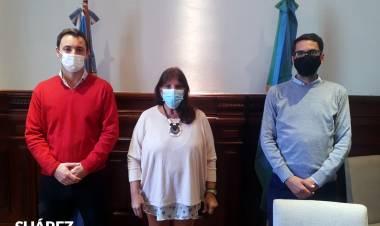Reunión con la Ministra de Gobierno Teresa García