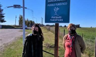 Turismo se sumó al 134° aniversario de Pueblo Santa María