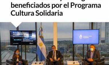 Trabajadores de la Cultura de Coronel Suárez y Huanguelén beneficiados por el Programa Cultura Solidaria