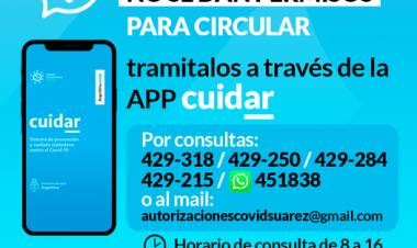 En el Municipio NO se dan permisos para circular!!!