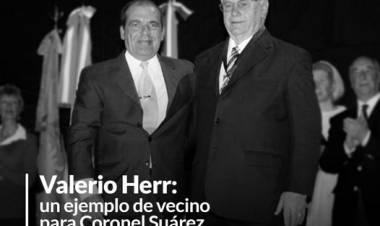 Valerio Herr: un ejemplo de vecino para Coronel Suárez