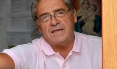 El dr. Ernesto Palenzona, pte. de la Liga Regional de Futbol