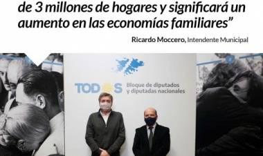 Ley Fría: Ricardo Moccero participó de la reunión con el bloque de Diputados Nacionales⠀