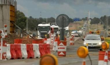 Bahía Blanca: Kicillof y Katopodis recorrerán las obras de la Autopista Paso Urbano (El Cholo)