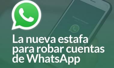La nueva estafa para robar cuentas de WhatsApp