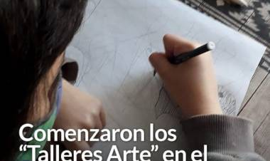 """Comenzaron los """"Talleres Arte"""" en el barrio Manantiales"""