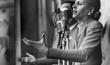 Eva Perón, un mundo hecho de palabras en carne viva