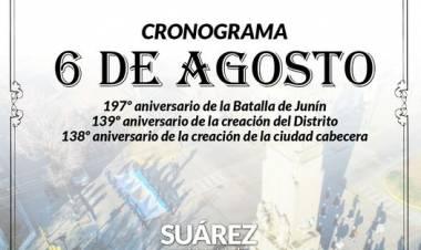 Coronel Suárez palpita un nuevo aniversario