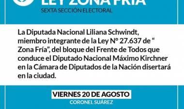 Jornada sobre la Ley de Zona Fría en Coronel Suárez