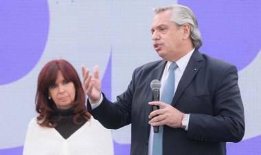Con el Presidente y Cristina Fernández, el FdT cierra su campaña electoral