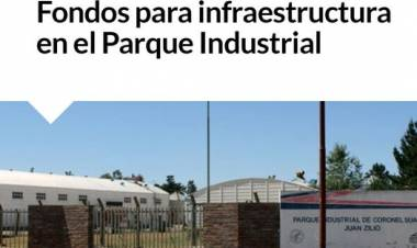 Fondos para infraestructura en el Parque Industrial⠀