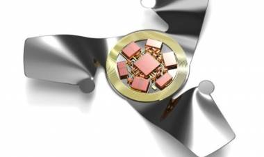 El microchip con alas, la estructura voladora artificial más pequeña creada por el hombre