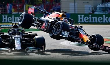 Verstappen y Hamilton llevan un explosivo duelo al Gran Premio de Rusia