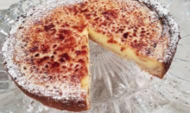 Postre: Crostata de limón!!