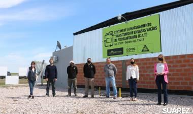 Se inauguró el Centro de Acopio Transitorio de Envases de Fitosanitarios (CAT)