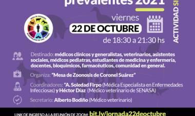 3ra Jornada Virtual de Enfermedades Zoonóticas prevalentes 2021