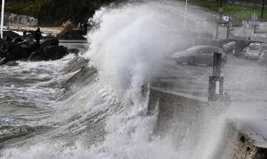 Francia: la tormenta Aurora dejó 250.000 hogares sin electricidad